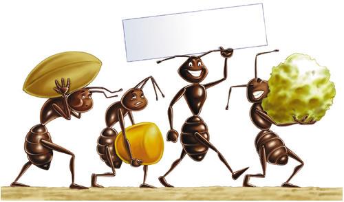 Lievito e formiche la melagranata - Formiche in cucina ...
