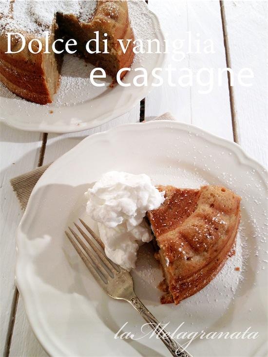dolce marroni vaniglia