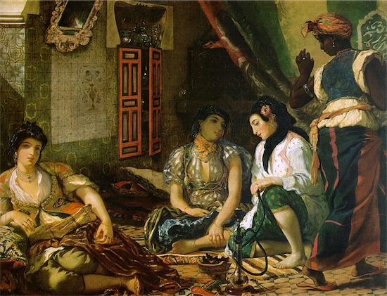 x donne di algeri